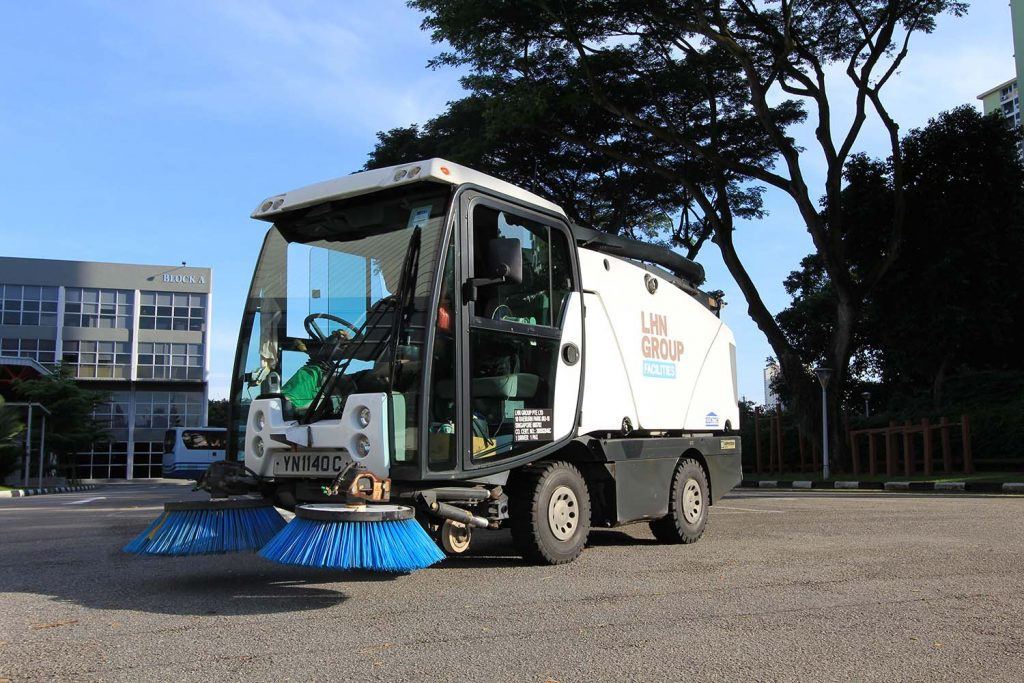 ICFM starts deploying integrated road sweeper machines services to several compounds